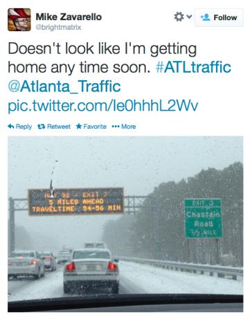 Atlanta storm 1-28-14
