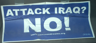 Attack Iraq No via McHenryCountyBlogcom