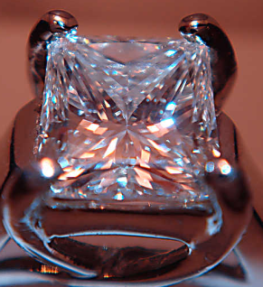 Diamond Ring via Wikimeda Commons