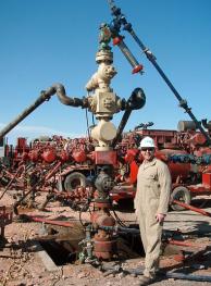 Fracking Well Heads via Wikipedia