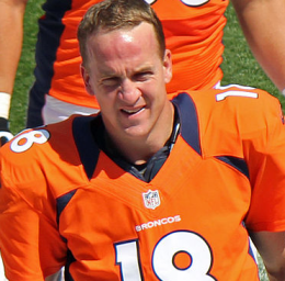 Peyton Manning via Wikimedia commons