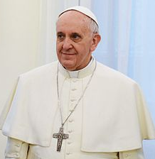 Pope Francis via Wikipedia