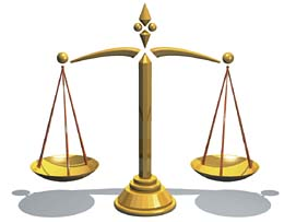 Scales of Justice via Wikimedia Commons