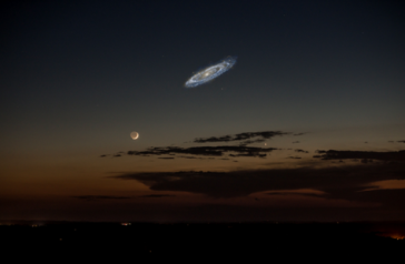 Andromeda Galaxy via OMGFacts on Twitter
