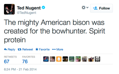 Ted Nugent 2-21-14