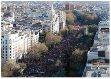 3-22-14 Dignity March Spain via revolution-News.com