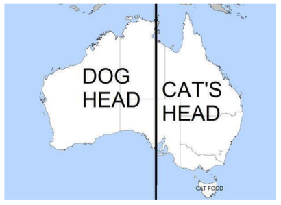 Dog:Cat australia via WereAustralia