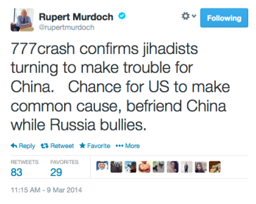 Murdoch Tweet 3-9-14)