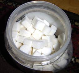 Sugar via Wikimedia Commons