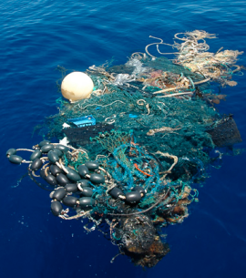 Trash in the Ocean via NationalGeographic.com