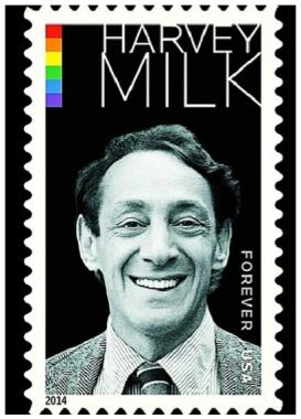 Harvey Milk Forever Stamp