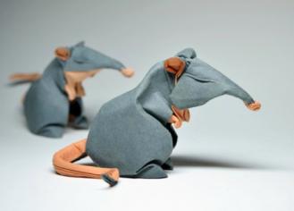 Paper Mouse via BrainWreck.com
