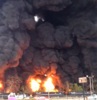 Va oil crash via sherifelipe on Instagram