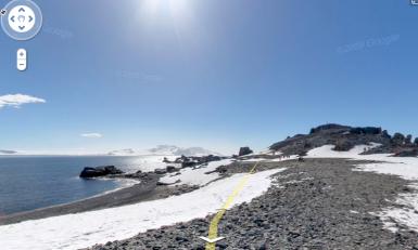 (Antartica via Google Streetview)