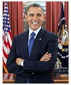Obama via Wikimedia