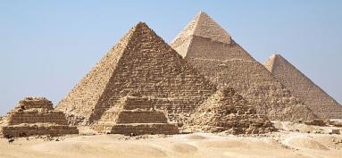 Pyramids via Wikipedia