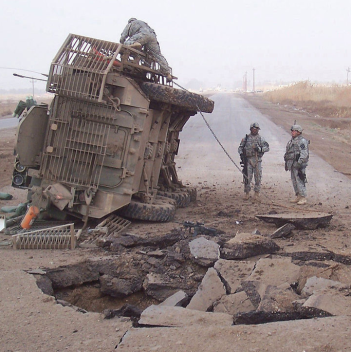 Iraq War via Wikimedia Commons