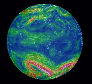 Antarctic wind