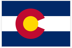 Colorado Flag via Wikipedia