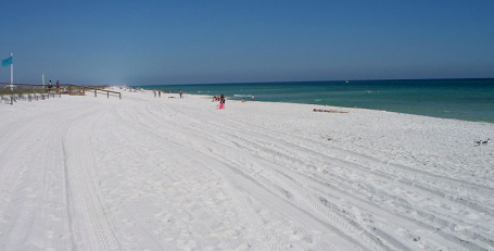 Navarre beach florida via wikimedia commons