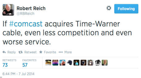 Reich tweet re comcast #2 7-714