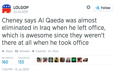 Tweet of the Day 7-15-14