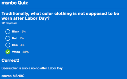 Labor Day quiz #2
