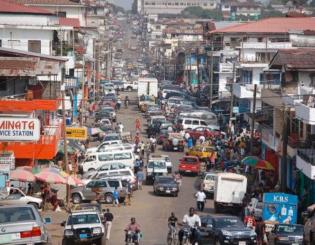 Monrovia liberia via wikipedia