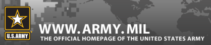 Homepage of the United States Army at army.mil: