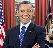 Barack Obama via Wikipedia