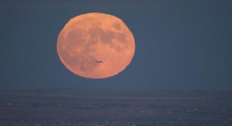 Full Moon 11-7-14 via CBS4Mark