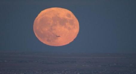 Full Moon 11-7-14 via CBS4Mark
