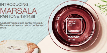 Pantone Color of the year via pantone.com