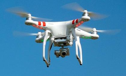 Drone Across Street via Wikimedia